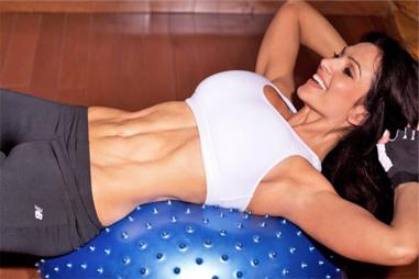 как разогнать жир на животе массажем